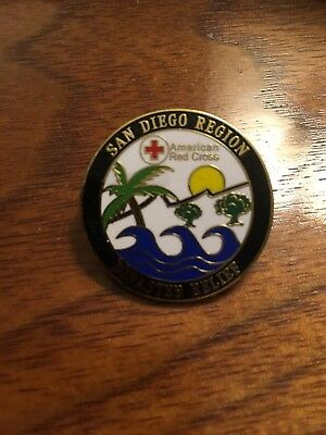 American Red Cross San Diego Disaster Relief Pin