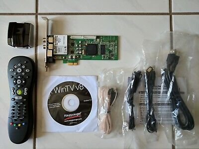 Hauppauge WinTV HVR-2200 DVB-T Dual Tuner PCI-Express + Win TV 8 + remote