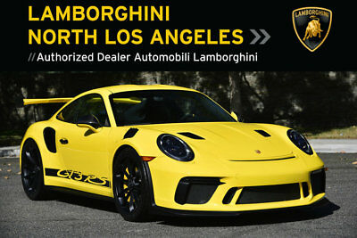 2019 Porsche 911 GT3 RS  *2019 GT3RS *RACING YELLOW *CHRONO PKG *WHITE DIALS *CARBON FIBER