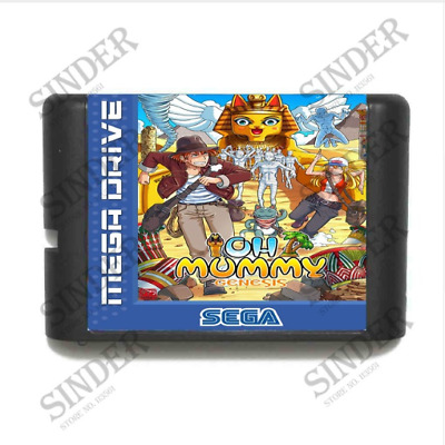 OH Mummy 16 bit SEGA MD Game Card For Sega Mega Drive For Genesis