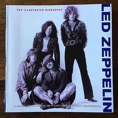 Led Zeppelin The Illustrated Biography Garett Thomas