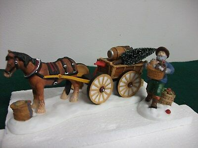 """Department 56 New England Village Series """" Load Up The Wagon *"""