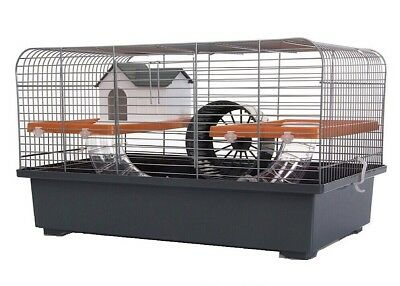 Hamster Cage Large 48cm - Dwarf Hamster - Mice - Gerbil Running Tubes & Toys
