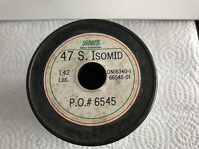 47 AWG  1.42 lbs. Copper Wire S. Isomed MWS Wire Industries