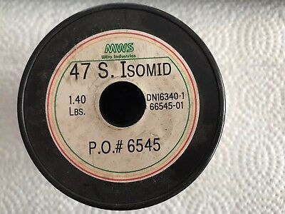 47 AWG  1.40 lbs. Copper Wire S. Isomed MWS Wire Industries
