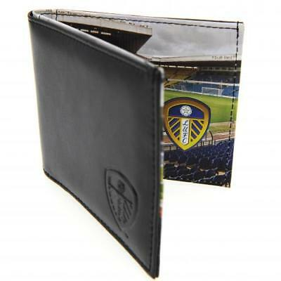 Leeds United FC Official Embossed Crest Panoramic Wallet