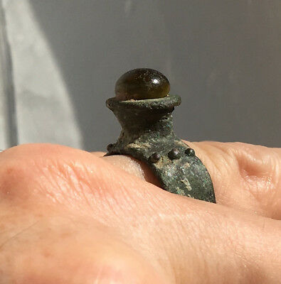 ancient bronze ring - Greek - 400 BC? 1000-2000 BC?
