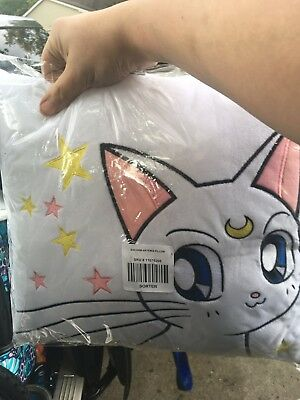 BNWT Sailor Moon Artemis Pillow