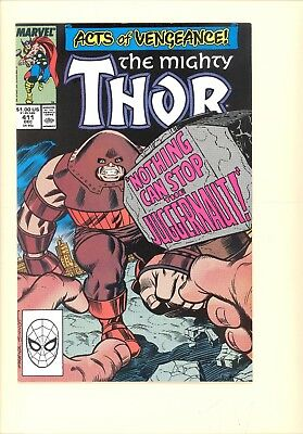 MIGHTY THOR #411 VF/NM- 1st appearance of the New Warriors, TV Show coming!