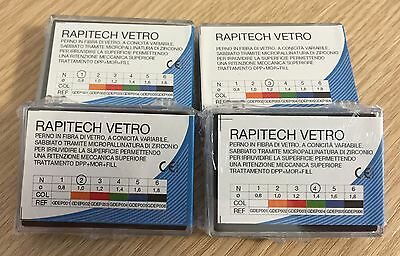 Perni dentali fibra di vetro endocanalari  Rapitec endodontic dental fiber post