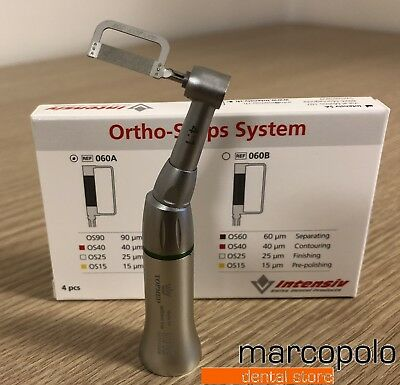 Contrangolo Lime Stripping ortodontico 1:4 MillDent ortho stripping handpiece