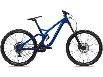 """2017 NS Bikes Fuzz DH Medium Frame ONLY Blue 27.5"""" Factory New MSRP $2499"""