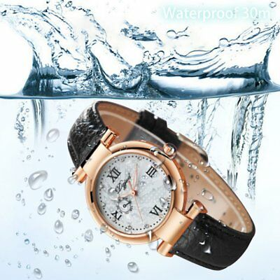Business Style Women Crocodile Pattern Leather Strap Wrist Watch for Female C2