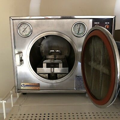 Autoclave Pelton & Crane OCR Omniclave Sterilizer Tattoo Dental Veterinary Salon