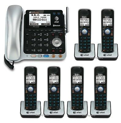R... TL86009 DECT 6.0 2-Line Corded//Cordless Phone System with Bluetooth AT/&T R