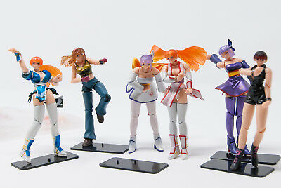Kaiyodo KT Dead or Alive DX mini figure set of 6 with accessories loose