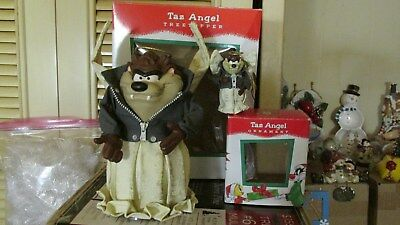 Tazmanian Devil Tree Topper Angel /with matching Ornament   Warner Bros.