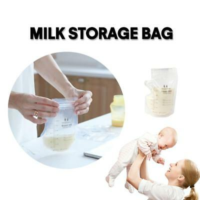 250ml Disposable Baby Food Feeding Breast Mother Milk Liquid Freezer Storage Bag