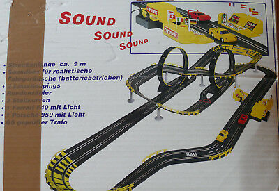 Cartronic Racing System, Rennbahn, Sound & Action, 35-00930