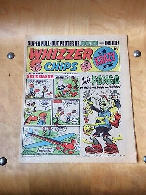 WHIZZER AND CHIPS COMIC....31st MARCH 1979.