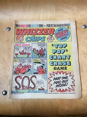 WHIZZER AND CHIPS COMIC....7th APRIL 1979.