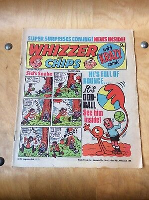 WHIZZER AND CHIPS COMIC....5th OF MAY 1979.