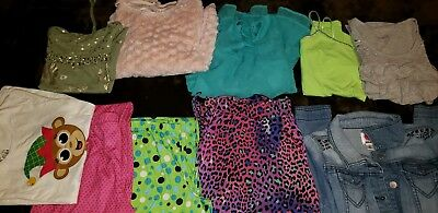 Girls Justice Pajamas Shirt Cami Dsigned Total Girl Place Lot sz 14 10pc