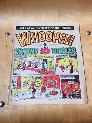 WHOOPEE COMIC....19th OF MAY 1979.