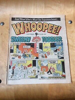 WHOOPEE COMIC....9th OF JUNE 1979.