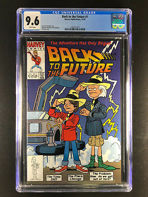 Back to the Future 1 CGC 9.6 Harvey 1st app Marty McFly Doc Brown