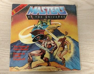 Masters of the Universe 2 Stories with Record He-Man Vinyl & Comic