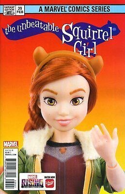 UNBEATABLE SQUIRREL GIRL #39 MARVEL ACTION DOLL HOM - H276 - PreOrder 12.12.2018