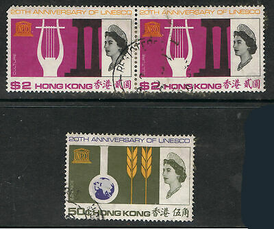 HONG KONG 1966 20th ANNIVERSARY OF UNESCO