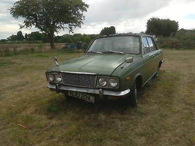 Humber Sceptre (Arrow) 1973 Mark 3 Rare Car for Restoration MOT and Tax exempt