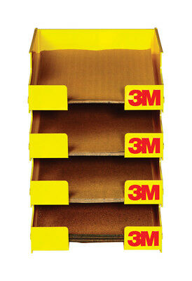 3M  11 in. H x 9 in. W x 9 in. W x 11 in. H Sandpaper Tray Racks  Yellow