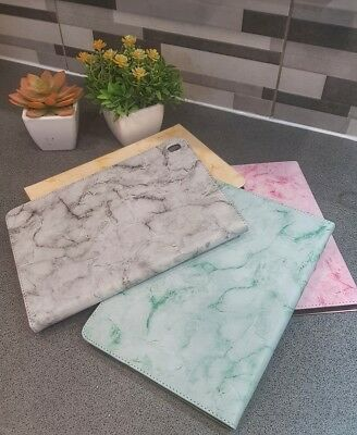 """Luxury Marble Leather Smart Flip Stand Case Cover For Apple iPad 9.7"""" 2017 2018"""
