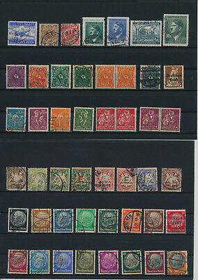 Germany, Deutsches Reich, Nazi, liquidation collection, stamps, Lot,used (KB 65)