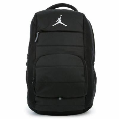 5f2ecf97d564 Air Jordan Jumpman All World Laptop Backpack Black Gray NWT 9A1640 023