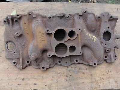 CORVETTE OEM BIG Block Cast Iron Intake Manifold 4bbl 270HP