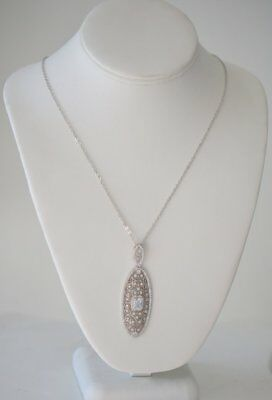 Heftsi silver chain with pendant