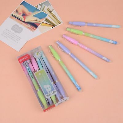 New 3pcs Erasable Pen Gel Pens Friction Ink Candy Color School Office Stationary