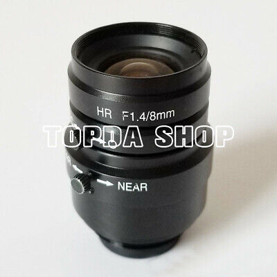 1PC KEYENCE CA-LH8 HR F1.4/8mm multiplier industrial camera lens#SS
