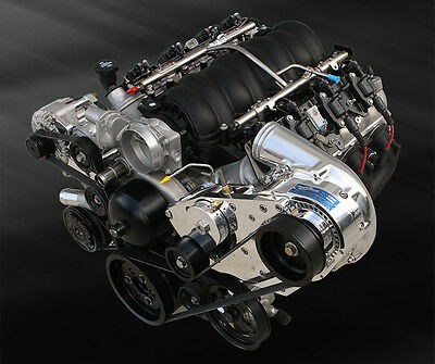 Procharger GM Lsx Trapianto P-1SC Supercharger Serpentina Sintonizzatore Kit Efi