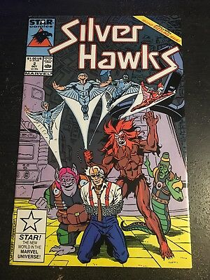 Silver Hawks#2 Incredible Condition 8.5(1987) Witherby Art!!