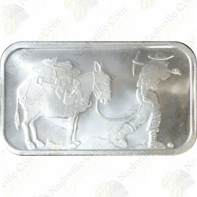 SilverTowne 1 oz .999 fine silver bar (Sealed) -- SKU #61201