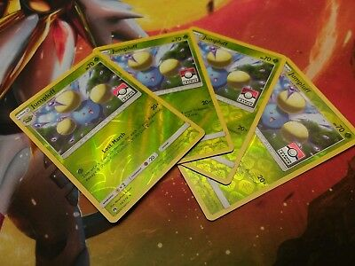 Pokemon Lost Thunder - Jumpluff Playset Rev Holo League Promo Card Lot of 4 - NM