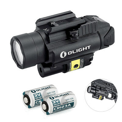 OLIGHT PL-2RL Baldr White LED & Red Laser Handgun Weaponlight with 2*CR123
