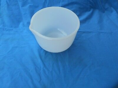 Vintage Small Milk Glass  Mixing Bowl To Suit Sunbeam Mixmaster