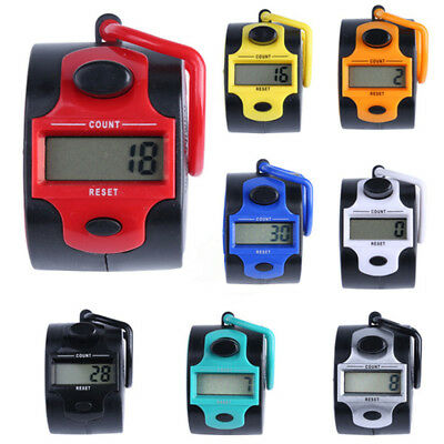 Electronic Plastic 5 Digit Measureing Tool Row/Stitch Marker Tally Counter