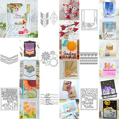 Multi-Design Metal Cutting Dies Stencil Scrapbook&paper Crafts Paper Card DIY